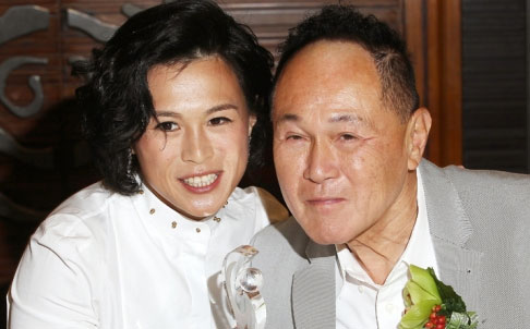 Gigi y Cecil Chao. Fuente: South China Morning Post.