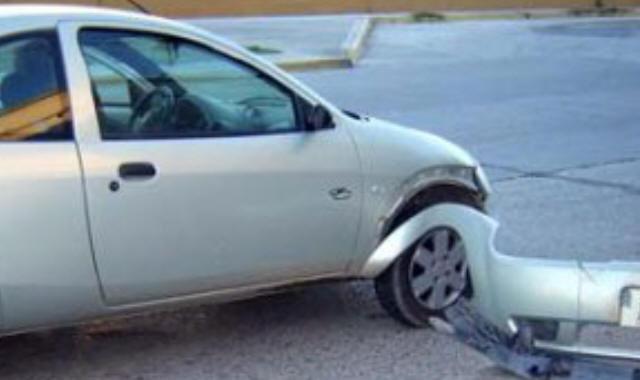 Así quedó el Ford Ka tras el accidente. Fuente: Cadena 3.