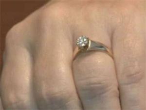 El anillo desaparecido.