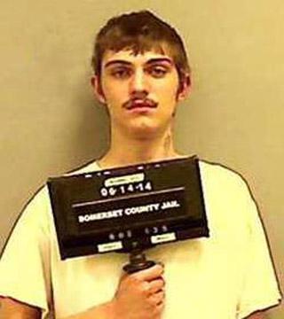 Foto de su primer arresto.
