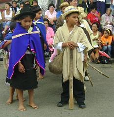 Traje típico de la zona de Caldono. Foto: Juan Alejandro Morales