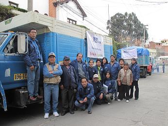 Equipo de atencion de emergencias La Paz. Foto: Katherine Argote/AeA