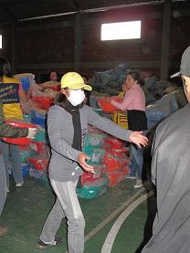 Atencion de emergencias en La Paz. Foto: Katherine Argote/AeA