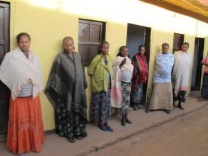 Las futuras mamás, en la casa de espera de MSF en Aroressa (© Faith Schwieker-Miyandazi/MSF).