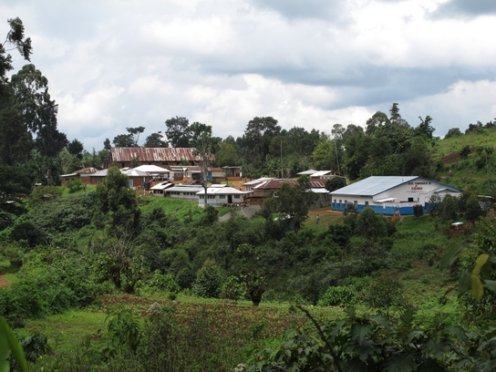 Base de MSF en Kalonge, RDC (© Fernando Calero).