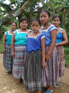 Mujeres del Petén. (Global Humanitaria).