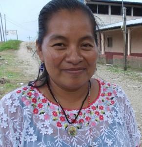 Petrona Chub en San Luis, Petén. (Global Humanitaria)