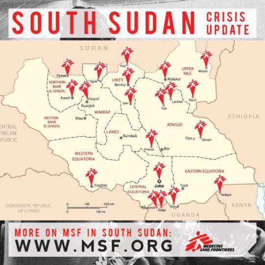 Médicos Sin Fronteras trabaja en el país desde hace 25 años. En los últimos dos meses ha realizado más de cien mil consultas (40% a niños menores de 5 años) y tratado casi 1.400 personas con heridas de guerra