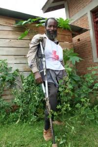 Rugambo Claude, voluntario en la comunidad de Nyanza-Lac.