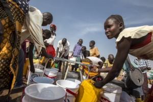 Oxfam Intermón está construyendo fuentes de agua potable. (Petterik Wiggers/Hollandse Hoogte)