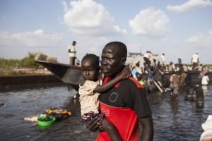 Por culpa del conflicto, miles de personas han abandonado sus hogares. (Mackenzie Knowles-Coursin/Oxfam)