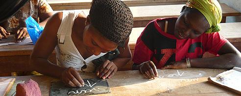 Alfabetización en Costa de Marfil. (Daniel Kone/Global Humanitaria)
