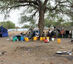 El campo de refugiados de Mingkaman