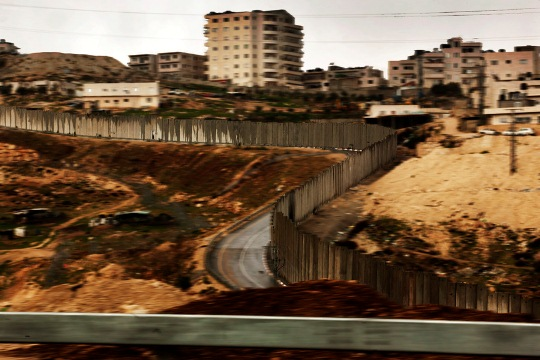 Muro de Cisjordania. Fotografía: Juan Carlos Tomasi/MSF