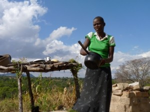 Lorraine Zemba. Foto: Solenn Honorine/MSF