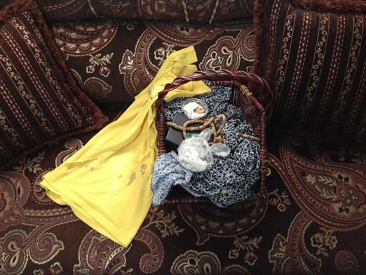 Bassim murió por un disparo de un soldado israelí en mientras cruzaba un puesto de control en Cisjordania. Estas son sus pertenencias.
