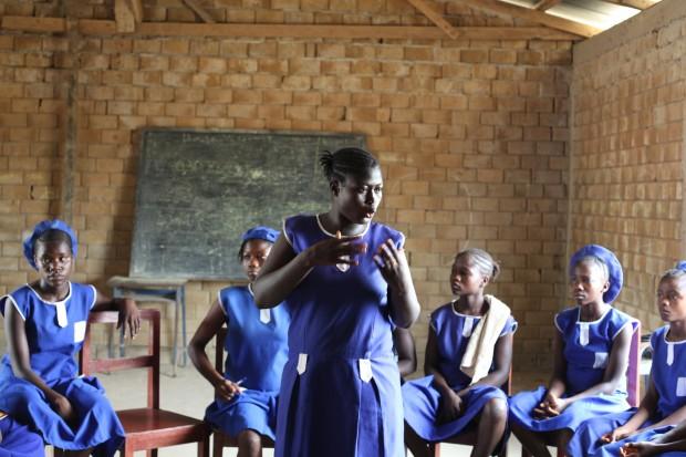 Chistiana habla sobre matrimonios forzados a las niñas de su comunidad