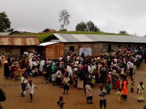 Campaña de vacunación en Minova.República Democrática del Congo. Fotografía de la Osada / MSF