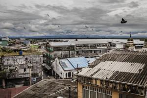 Panorámica de la ciudad de Buenaventura, Colombia. Fotografía de Anna Surinyach/MSF