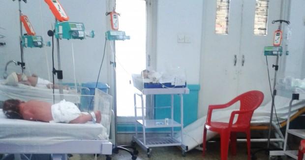 Hospital de ginecología y obstetricia de MSF en Peshawar