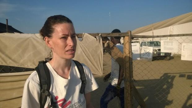 Siobhan O'Malley, enfermera especializada en obstetricia de MSF. Fotografía Anna Surinyach/MSF