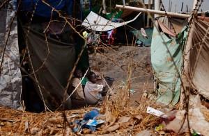 La ciudad de Sudán del Sur, Malakal, fue atacada el 18 de febrero de 2014. Los enfrentamientos entre el gobierno y las fuerzas opositoras obligaron a miles de personas a abandonar sus casas, hacia otros lugares o hacia los campos de refugiados de Naciones Unidas. Alrededor de 21.000 personas llegaron a este campo. Fotografía Anna Surinyach/MSF
