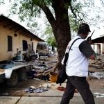 El Hospital de Malakal fue atacado por un grupo de hombres armados. Cuando el equipo de MSF volvió al hospital se encontró 11 cadáveres. Algunos de sus pacientes fueron disparados en sus camas. Fotografía Anna Surinyach/MSF