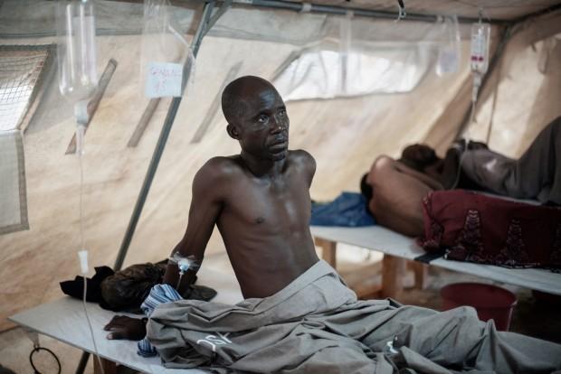Desde el pasado enero, los Centros de Tratamiento de Cólera de MSF han recibido 2.578 pacientes La higiene es fundamental para combatir esta epidemia. © Luca Sola/MSF