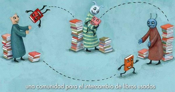 Portada de la web BookMooch