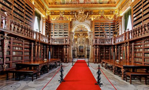 Biblioteca Joanina, Universidad de Coimbra