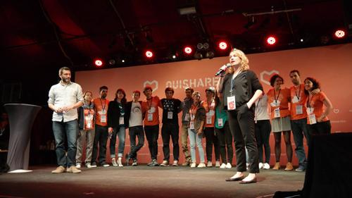 Presentación OuiShare Fest BCN París