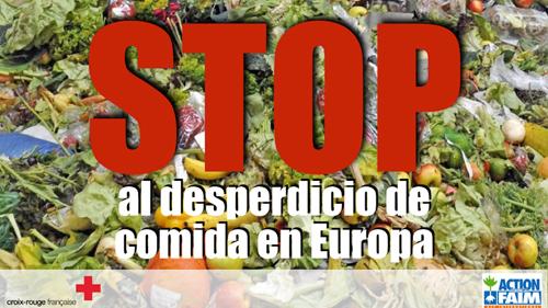 Stop al deperdicio de alimentos en Europa