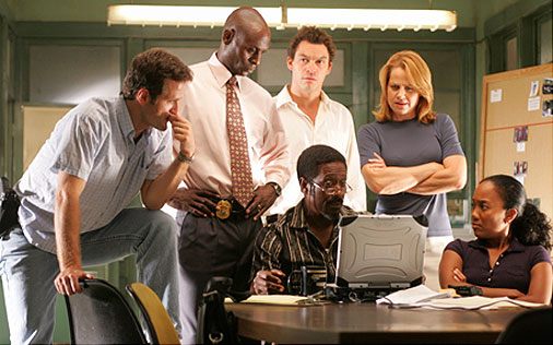 Fotograma de 'The wire'
