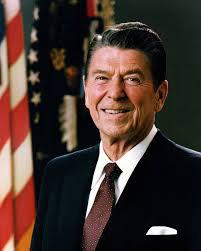 El ex presidente de EEUU Ronald Reagan. Wikipedia
