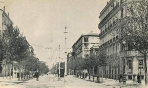 El madrileño barrio de Salamanca, en 1903. /Memoria de Madrid