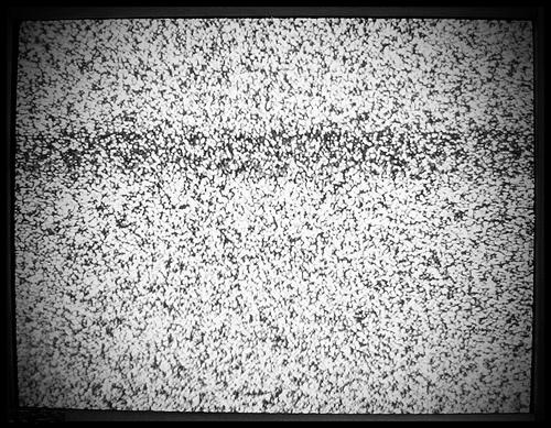 televisor nieve