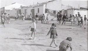 El madriñeño barrio de Vallecas, en los años 50. /Fb Vallecas