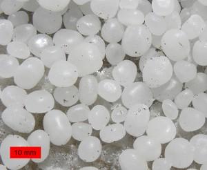 Pequeñas piedras de sal / Wikipedia
