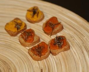 Canapés elaborados con insectos / TEDxMadrid