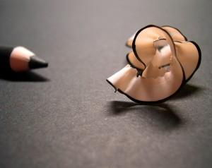Cuanto más grafito se utilice, más blando y oscuro es el trazo del lápiz. / Emi Yañez. Flickr