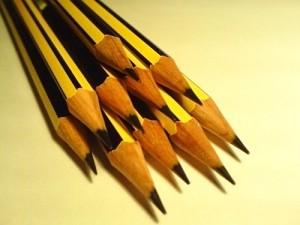 Para crear la barra de pigmento se usa grafito mezclado, generalmente, con arcilla. / Javier Micora. Flickr