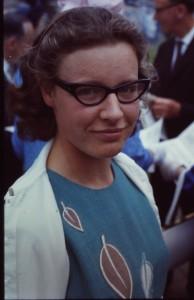 Jocelyn Bell en 1967