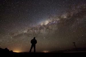 La Via Láctea vista desde el desierto de Atacama