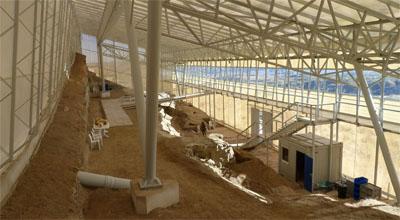 Interior del Centro Paleontológico Fonelas P-1. IGME.