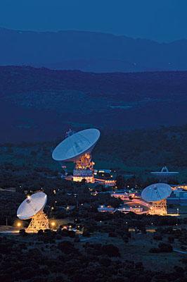 Madrid Deep Space Communication Complex, Red del Espacio Profundo, en Robledo de Chavela. ©PromoMadrid, autor Max Alexander.