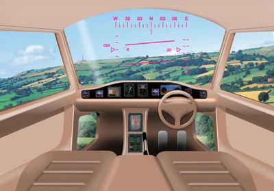 Concepto artístico de la cabina de un vehículo aéreo personal (PAV). myCopter.