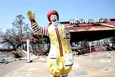 Daños causados por el huracán Katrina en el Estado de Mississippi (2005). Gary Mark Smith vía Wikipedia (Creative Commons).