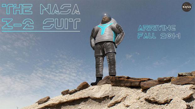 Z-2, el nuevo diseño de la NASA para un prototipo de traje espacial apto para Marte. NASA.