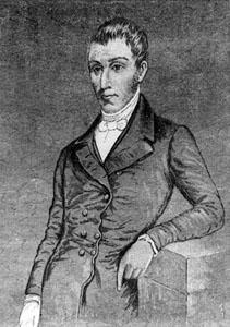 Retrato del científico colombiano Francisco José de Caldas. Imagen de Wikipedia.