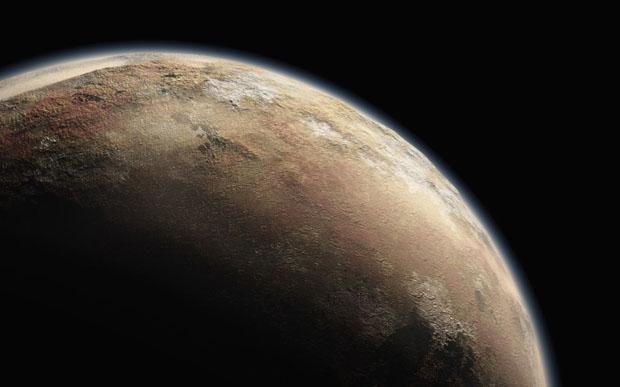 Impresión artística de Plutón. Imagen de JHU/APL.